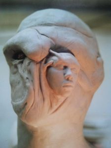 Sculpture for Clive Barker's film Nightbreed by Junior Tomlin