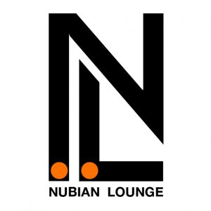 Nubian Lounge Logo designed by Junior Tomlin